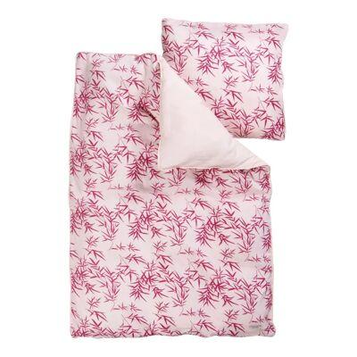 Manostiles - Sengetøj, Nordic Zen - Soft Blossom - Str.: Junior - Børnetøj - Manostiles