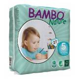 Diverse Bambo Ble Nature Junior 12-22 kg, 6 x 27 stk