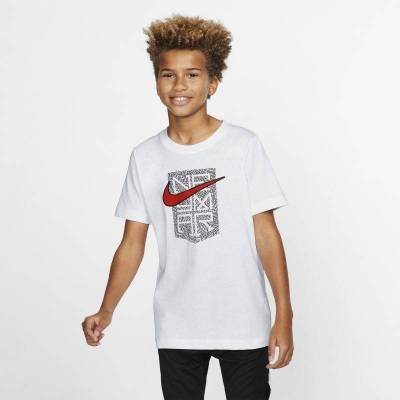 Neymar Jr.-T-shirt til store børn - White - Børnetøj - Array
