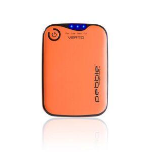 Veho Pebble Verto Portable Battery Back Up Power, 3700mah - Orange