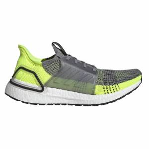Adidas Ultraboost 19 - Grey/Green - US 11.5/UK 11