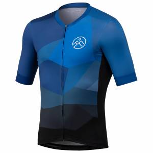 54 Degree Strato Jersey - Cerulean Blue - XL - Blue
