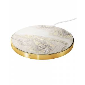 iDeal Of Sweden Fashion QI Charger Sparkle Greige Marble