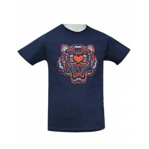 Kenzo Classic Tiger T-Shirt Blå XL