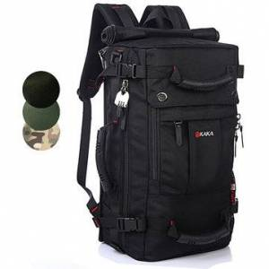 Newchic Men Oxford Backpack Casual Multi-functional Crossdody Bag