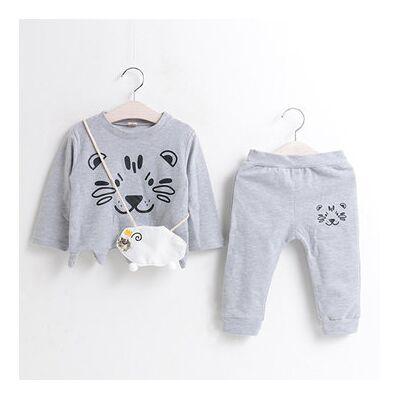 Newchic Cute Cat Printed Girls Clothing Set - Børnetøj - Newchic