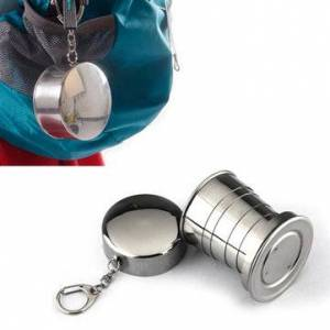 Newchic Folding Collapsible Metal Water Cup