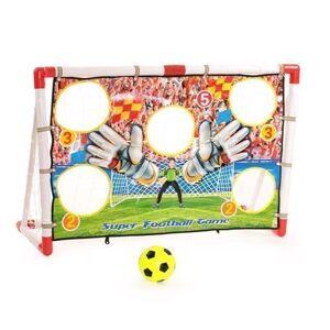 Fodboldmål med point skærm