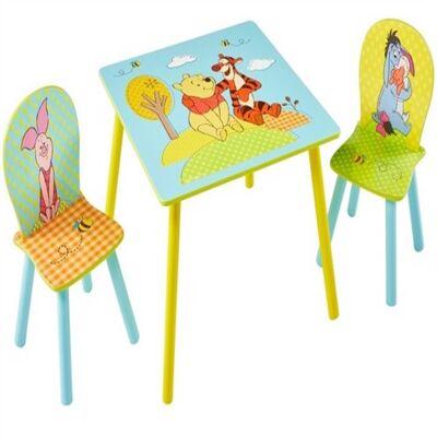 Peter Plys Bord Med Stole - Babymøbler - Array