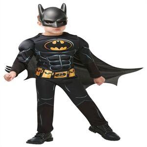 Batman Deluxe Udklædningstøj (9 -10 år)(Str. 140/9-10)