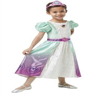 Viking Ridderprinsessen Nella Deluxe udklædning til børn(Str. 98/Toddler)