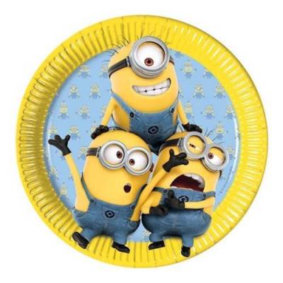 Minions Country, 8st. - Baby Spisetid - Array
