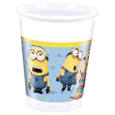 Minions Cups, 8st. - Baby Spisetid - Array