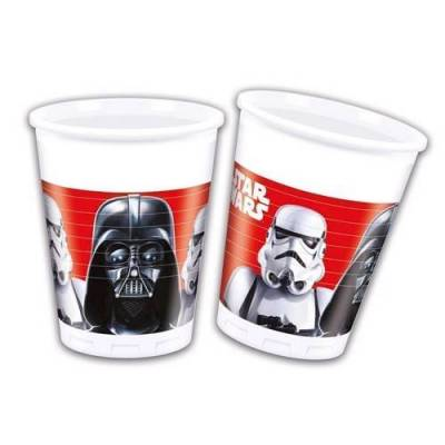 Star Wars cups, 8pcs. - Baby Spisetid - Array