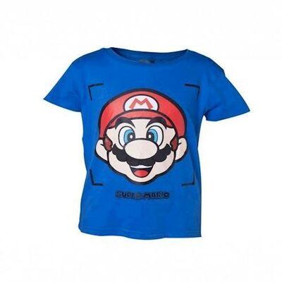 Nintendo Super Mario Tshirt 122/128 - Børnetøj - Nintendo