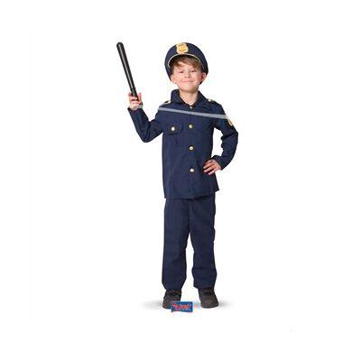 Udklædning, politi M - Børnetøj - Array