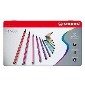 Stabilo Pen 68 in metal box, 30kl.