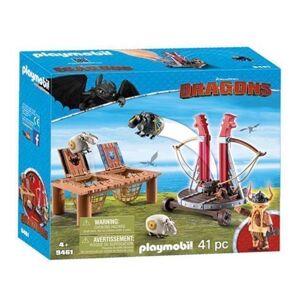 Playmobil 9461 Gobert Knaldræb Med Fåreslynge