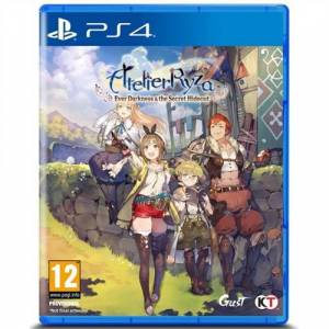 Atelier Ryza, ever darkness and the secret hideout, PS4
