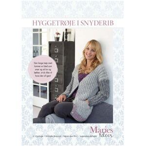 Maries Ideer Strikkeopskrift - Hyggetrøje i snyderib (E-bog)