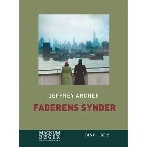Jeffrey Archer Faderens synder (storskrift) (Bog)