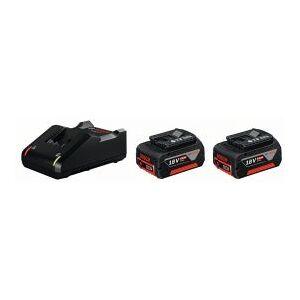 Bosch 2 x GBA 18V 4.0Ah + GAL 18V-40 - Startsæt - 1600A019S0