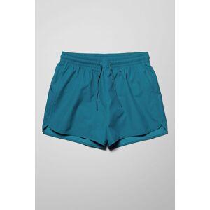 Tan Rip Stop Swim Shorts - Blue adult