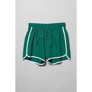 Tan Swim Shorts - Green adult