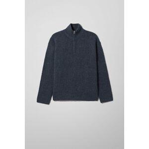 Rey Halfzip Sweater - Blue adult