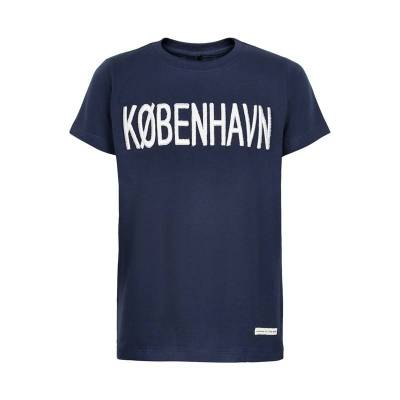 The New KOBENHAVN TEE TN2191 (Black Iris, 7/8) - Børnetøj - The New