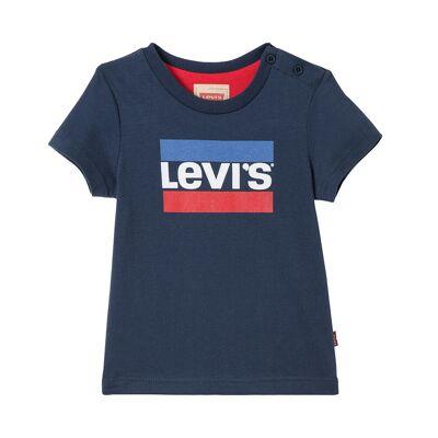 LEVIS T-SHIRT NN10004 DB (Dark Blue 48, 68) - Børnetøj - Array