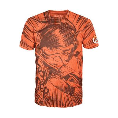 Merchshark Tracer t-shirt - Overwatch - Medium - Børnetøj - Merchshark