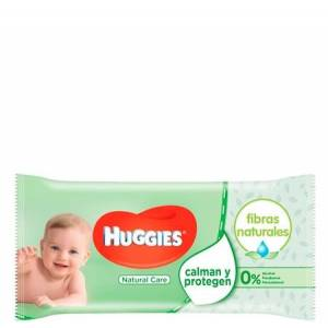 Huggies Vådservietter Natural Care - 56 stk.