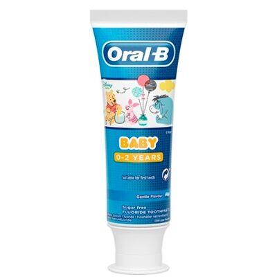 Oral-B Peter Plys Stages Tandpasta 0-2 år - 75ml - Baby Spisetid - Oral-B