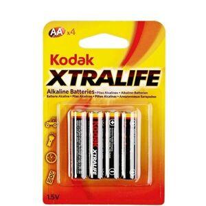 Kodak Xtralife Alkaline AA Batterier 4 stk.