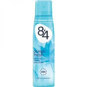 8x4 Ocean Fresh Deospray For Women - 150 ml