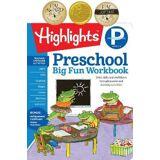 Preschool Big Fun Workbook by Highlights Learning