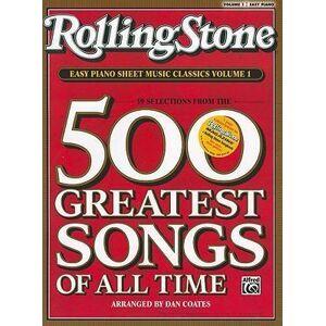 Rolling Stone Easy Piano Sheet Music Classics, Volume 1 by Dan Coates