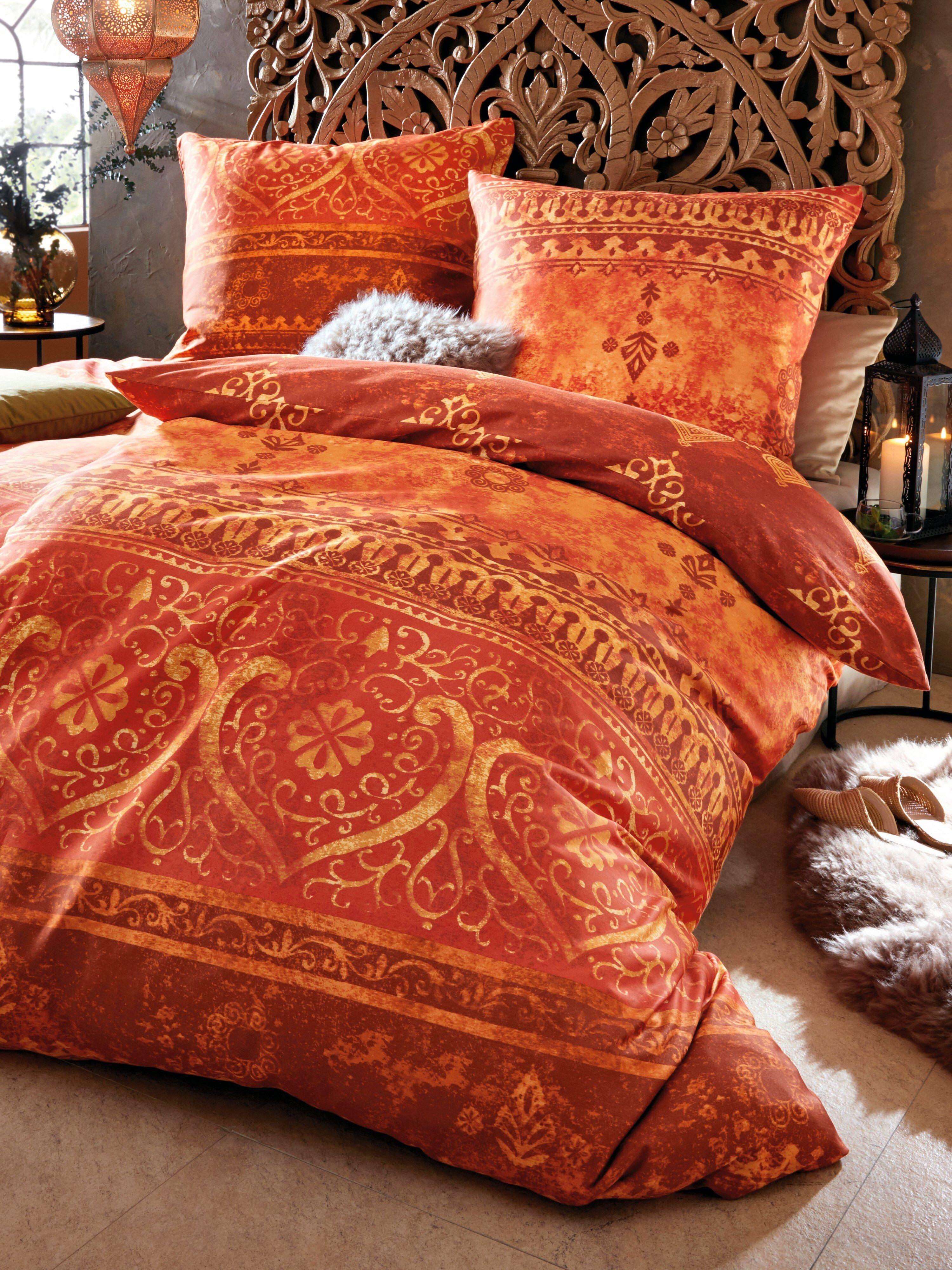 Casatex 2-delt sengesæt Fra Casatex orange