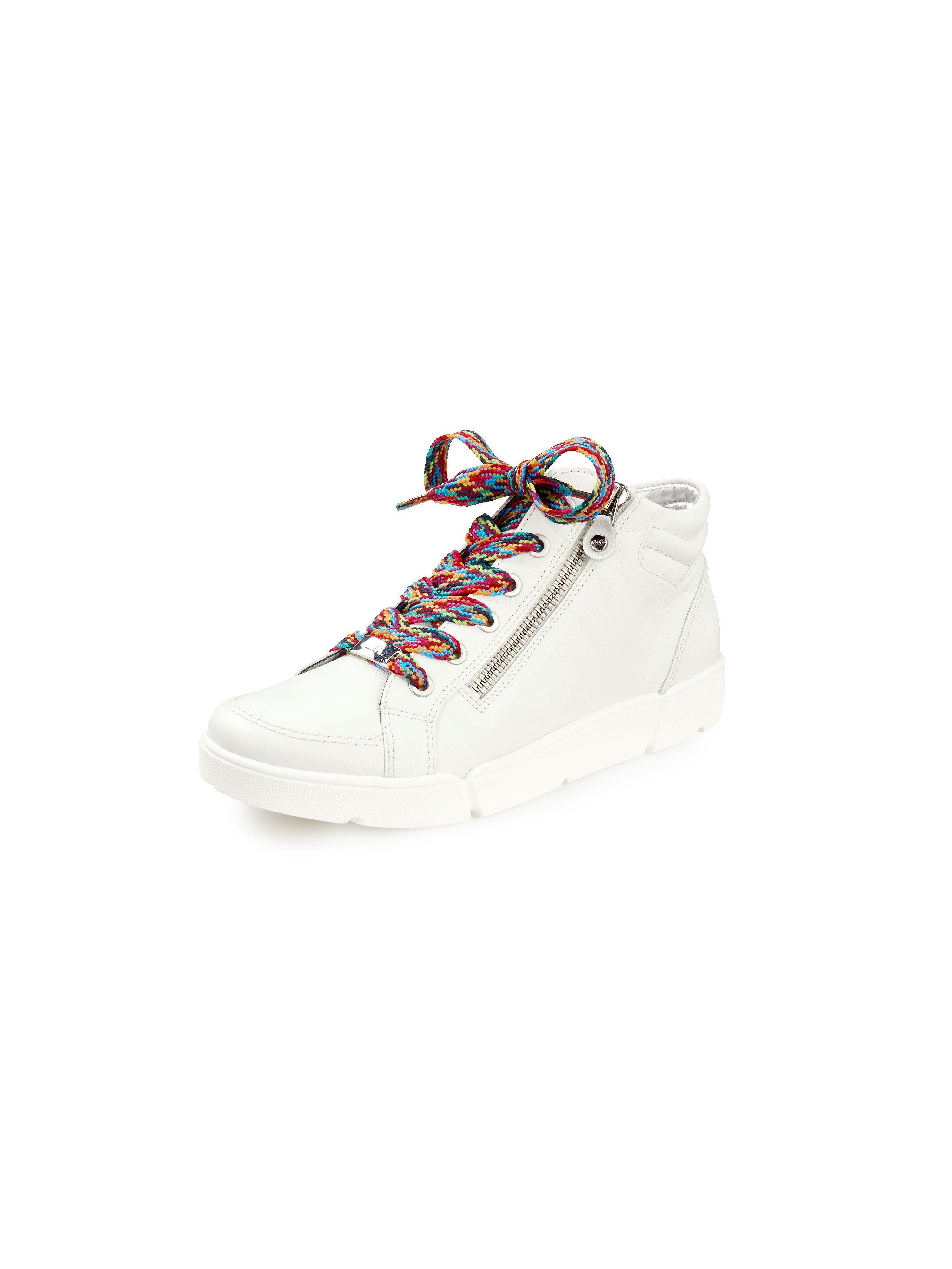 ARA Sneakers Rom HighSoft i kalvenappa Fra ARA hvid
