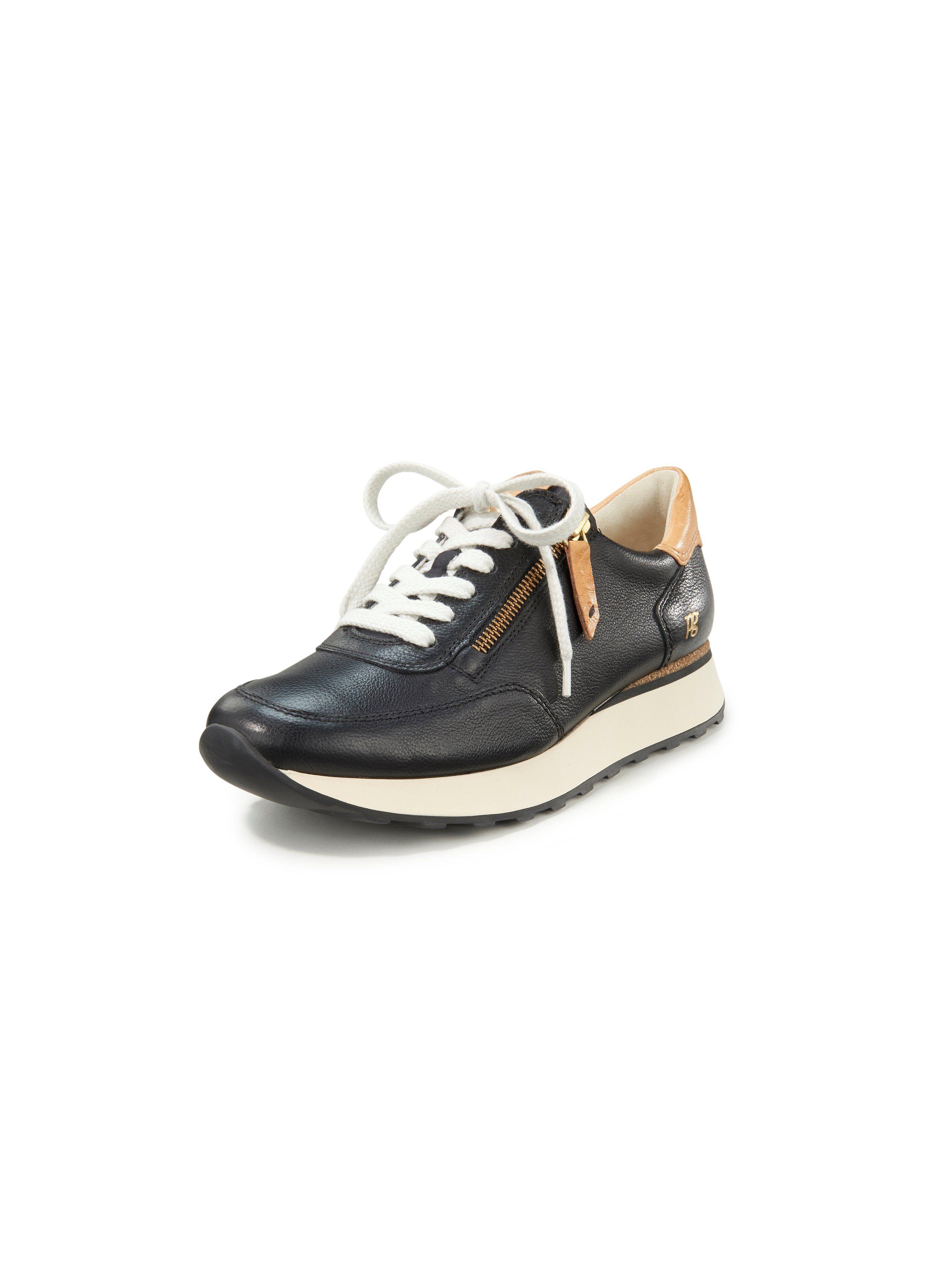 Paul Green Sneakers i kalvenappaskind Fra Paul Green sort