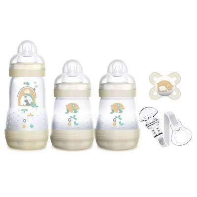 MAM Gavesæt Giftset Newborn One Size - Baby Spisetid - MAM