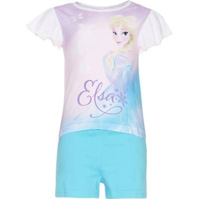 Disney Frozen Pyjamas, Hvid/Blå 110 cm - Børnetøj - Disney