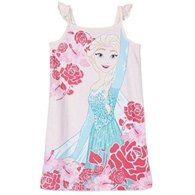 Disney Frozen Natkjole, Lys rosa 104 cm - Børnetøj - Disney