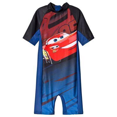 Disney Pixar Cars Cars UV-Dragt Mørkeblå 122/128 cm - Børnetøj - Disney