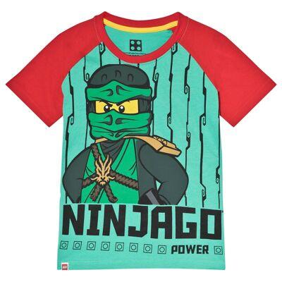 Lego Wear T-shirt Ninjago Grøn 104 cm - Børnetøj - Lego