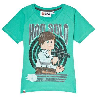 Lego Wear T-shirt Star Wars™ Grøn 104 cm - Børnetøj - Lego