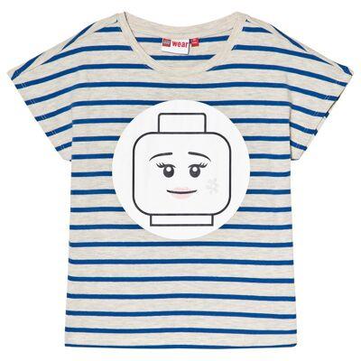 Lego Wear Tanya T-shirt Blå 122 cm - Børnetøj - Lego