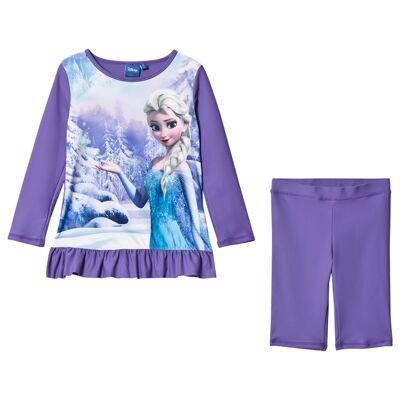 Disney Frozen UV-sæt, Lilla 92 cm - Børnetøj - Disney