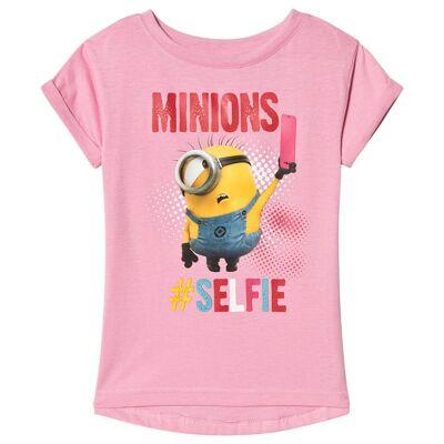 Minions Despicable Me, Top, Pink 110 cm - Børnetøj - Minions